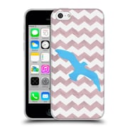 OFFICIAL ARTPOPTART CHEVRON Seagull Soft Gel Case for Apple iPhone 5c (C_E_1A223)