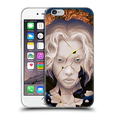 Official Daniel Conway Surreal Portraits Broken Kintsugi Soft Gel Case for Apple iPhone 6 / 6s (C_F_1C2C9)