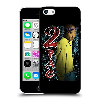 OFFICIAL TUPAC SHAKUR KEY ART Vintage Hard Back Case for Apple iPhone 5c (9_E_1C845)