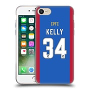 Official Crystal Palace FC 2016/17 Players Home Kit Martin Kelly Soft Gel Case for Apple iPhone 7 (C_1F9_1E626)