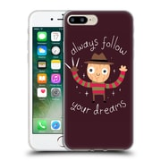 Official DINOMIKE FUN ILLUSTRATIONS Always Follow Your Dreams Soft Gel Case for Apple iPhone 7 Plus (C_1FA_1BB1A)