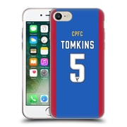Official Crystal Palace FC 2016/17 Players Home Kit James Tomkins Soft Gel Case for Apple iPhone 7 (C_1F9_1E630)