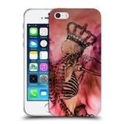 OFFICIAL ANGELO CERANTOLA SKULLS After The Love Has Gone Soft Gel Case for Apple iPhone 5 / 5s / SE (C_D_1A39D)
