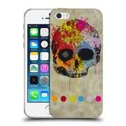 OFFICIAL ANGELO CERANTOLA SKULLS It Is Gonna Happen Soon Soft Gel Case for Apple iPhone 5 / 5s / SE (C_D_1A39F)