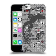OFFICIAL ANGELO CERANTOLA ANIMALS Stratagem Soft Gel Case for Apple iPhone 5c (C_E_1A396)