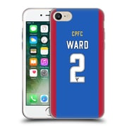 Official Crystal Palace FC 2016/17 Players Home Kit Joel Ward Soft Gel Case for Apple iPhone 7 (C_1F9_1E624)