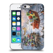 Official Christmas Mix Winter Wonderland Nicky Boehme Tis The Night Before Soft Gel Case for Apple iPhone 5 / 5s / SE