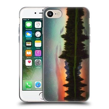 Official DARREN WHITE REFLECTION Schwabacher Alpenglow Soft Gel Case for Apple iPhone 7 (C_1F9_1B1D1)