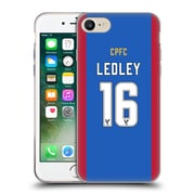 Official Crystal Palace FC 2016/17 Players Home Kit Joe Ledley Soft Gel Case for Apple iPhone 7 (C_1F9_1E62F)