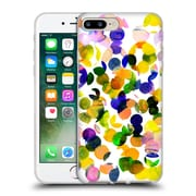 OFFICIAL AMY SIA WATERCOLOUR SPOTS Sunshine Soft Gel Case for Apple iPhone 7 Plus (C_1FA_1AB7C)
