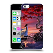 Official Daniel Conway Cherry Blossoms Sakura In The Sky Soft Gel Case for Apple iPhone 5c (C_E_1C2C0)