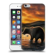 Official CHUCK BLACK WILDLIFE AND ANIMALS Persistence Soft Gel Case for Apple iPhone 6 Plus / 6s Plus (C_10_1AE93)