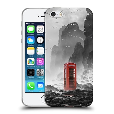 Official Daniel Conway Surreal Scenery Phonebooth Soft Gel Case for Apple iPhone 5 / 5s / SE (C_D_1C2CF)