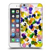 OFFICIAL AMY SIA WATERCOLOUR SPOTS Sunshine Soft Gel Case for Apple iPhone 6 Plus / 6s Plus (C_10_1AB7C)