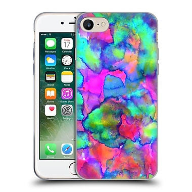 OFFICIAL AMY SIA ABSTRACT COLOURS Aurora Soft Gel Case for Apple iPhone 7 (C_1F9_1AB2A)