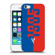 Official Crystal Palace FC The Eagles 1905 Soft Gel Case for Apple iPhone 5 / 5s / SE (C_D_1E18D)