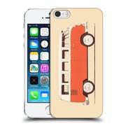 OFFICIAL FLORENT BODART VEHICLES Red Van Hard Back Case for Apple iPhone 5 / 5s / SE (9_D_1AFDC)
