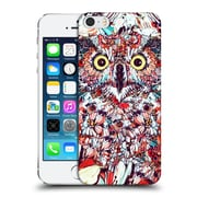 OFFICIAL GIULIO ROSSI FLORALS Owl Hard Back Case for Apple iPhone 5 / 5s / SE (9_D_1BCC0)