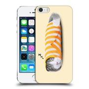 OFFICIAL TUMMEOW CATS 2 Paper Hard Back Case for Apple iPhone 5 / 5s / SE (9_D_1BA8E)