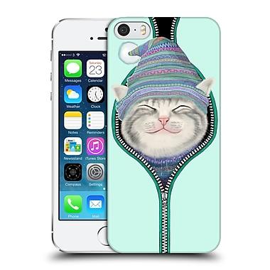 OFFICIAL TUMMEOW CATS 2 Zip Hard Back Case for Apple iPhone 5 / 5s / SE (9_D_1BA8A)
