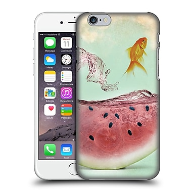 OFFICIAL VIN ZZEP FISH Watermelon Goldfish Hard Back Case for Apple iPhone 6 / 6s (9_F_1E25C)