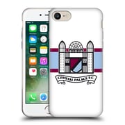 Official Crystal Palace FC 2016/17 Retro Badge Towers Logo Soft Gel Case for Apple iPhone 7 (C_1F9_1E18F)
