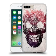 OFFICIAL ALI GULEC THE MESSAGE Foral Skull Soft Gel Case for Apple iPhone 7 Plus (C_1FA_1BD4E)