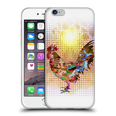 OFFICIAL ANGELO CERANTOLA ANIMALS Rise And Shine Soft Gel Case for Apple iPhone 6 / 6s (C_F_1A395)