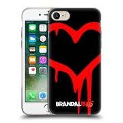 OFFICIAL BRANDALISED BANKSY GRAFFITI Painted Heart Soft Gel Case for Apple iPhone 7 (C_1F9_18DD6)