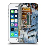 Official Christmas Mix Winter Wonderland Nicky Boehme Hey! Wait For Me Soft Gel Case for Apple iPhone 5 / 5s / SE (C_D_1D3A5)