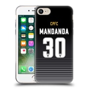 Official Crystal Palace FC 2016/17 Players Home Kit Steve Mandanda Soft Gel Case for Apple iPhone 7 (C_1F9_1E632)