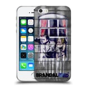 OFFICIAL BRANDALISED BANKSY COLOURED ART Window Soft Gel Case for Apple iPhone 5 / 5s / SE (C_D_18DFC)