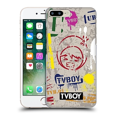 OFFICIAL TVBOY STENCIL ALL OVER One Hard Back Case for Apple iPhone 7 Plus (9_1FA_19A67)