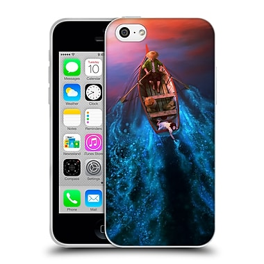 Official Daniel Conway Surreal Scenery Lights Beneath The Lake Soft Gel Case for Apple iPhone 5c (C_E_1C2CE)