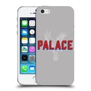 Official Crystal Palace FC The Eagles Palace Grey Soft Gel Case for Apple iPhone 5 / 5s / SE (C_D_1E185)