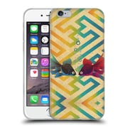 OFFICIAL ANGELO CERANTOLA ANIMALS You And Me Both Soft Gel Case for Apple iPhone 6 / 6s (C_F_1A391)