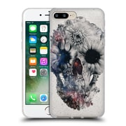 OFFICIAL ALI GULEC THE MESSAGE Foral Skull 2 Soft Gel Case for Apple iPhone 7 Plus (C_1FA_1BD4F)
