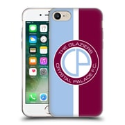 Official Crystal Palace FC 2016/17 Retro Badge Glaziers Logo Soft Gel Case for Apple iPhone 7 (C_1F9_1E190)
