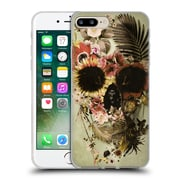 OFFICIAL ALI GULEC THE MESSAGE Garden Skull Light Soft Gel Case for Apple iPhone 7 Plus (C_1FA_1BD52)