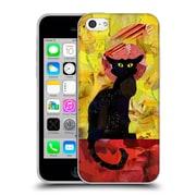 OFFICIAL ARTPOPTART POP CULTURE Le Chat Noir Soft Gel Case for Apple iPhone 5c (C_E_1A230)