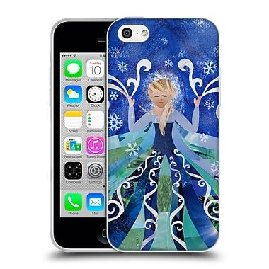 OFFICIAL ARTPOPTART POP CULTURE Ice Queen Soft Gel Case for Apple iPhone 5c (C_E_1A22A)
