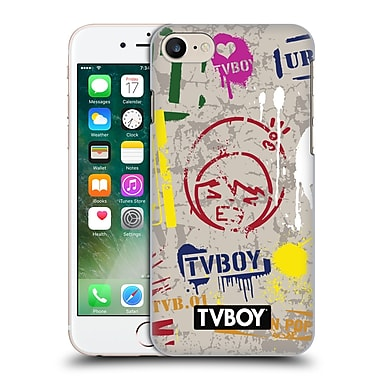 OFFICIAL TVBOY STENCIL ALL OVER One Hard Back Case for Apple iPhone 7 (9_1F9_19A67)