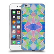 OFFICIAL AMY SIA KALEIDOSCOPE Chroma Blue Soft Gel Case for Apple iPhone 6 Plus / 6s Plus (C_10_1AB61)
