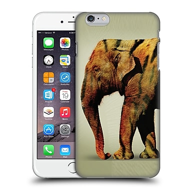 OFFICIAL VIN ZZEP ANIMALS Elephant Tiger Hard Back Case for Apple iPhone 6 Plus / 6s Plus (9_10_1E232)