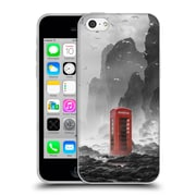 Official Daniel Conway Surreal Scenery Phonebooth Soft Gel Case for Apple iPhone 5c (C_E_1C2CF)