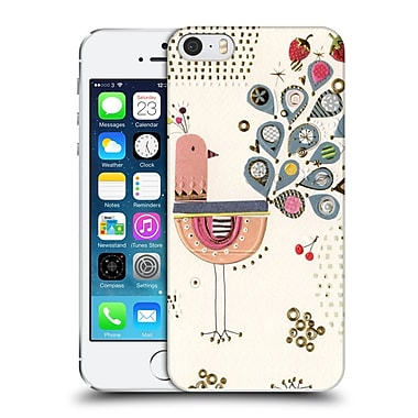 OFFICIAL TURNOWSKY RETRO VISION Prized Peacock Hard Back Case for Apple iPhone 5 / 5s / SE (9_D_1CE95)