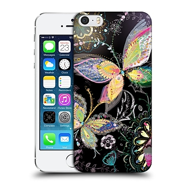 OFFICIAL TURNOWSKY SILVER MOON Night Flight Hard Back Case for Apple iPhone 5 / 5s / SE (9_D_1CE9B)
