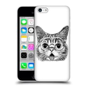 OFFICIAL TUMMEOW CATS IN BLACK AND WHITE Tongue Out Hard Back Case for Apple iPhone 5c (9_E_1BA98)