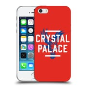 Official Crystal Palace FC The Eagles Red Palace Soft Gel Case for Apple iPhone 5 / 5s / SE (C_D_1E187)