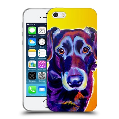 Official Dawgart Dogs Lab Cole Soft Gel Case for Apple iPhone 5 / 5s / SE (C_D_1A43B)